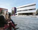 Steni-beplating schoolgebouw