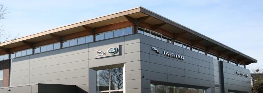 Gevelpanelen Jaguar Land Rover
