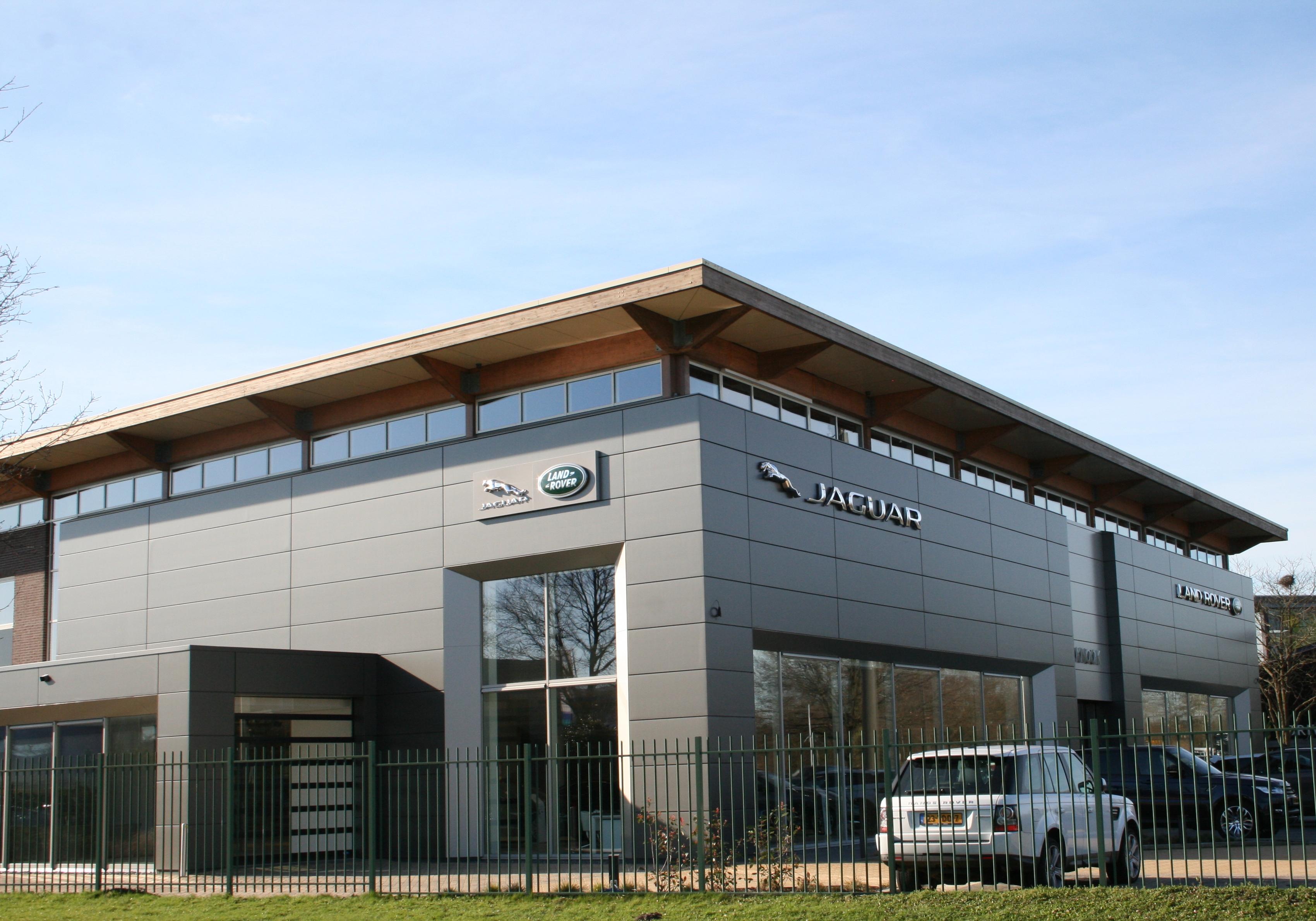 Gevelbekleding: Gevelpanelen Jaguar Land Rover