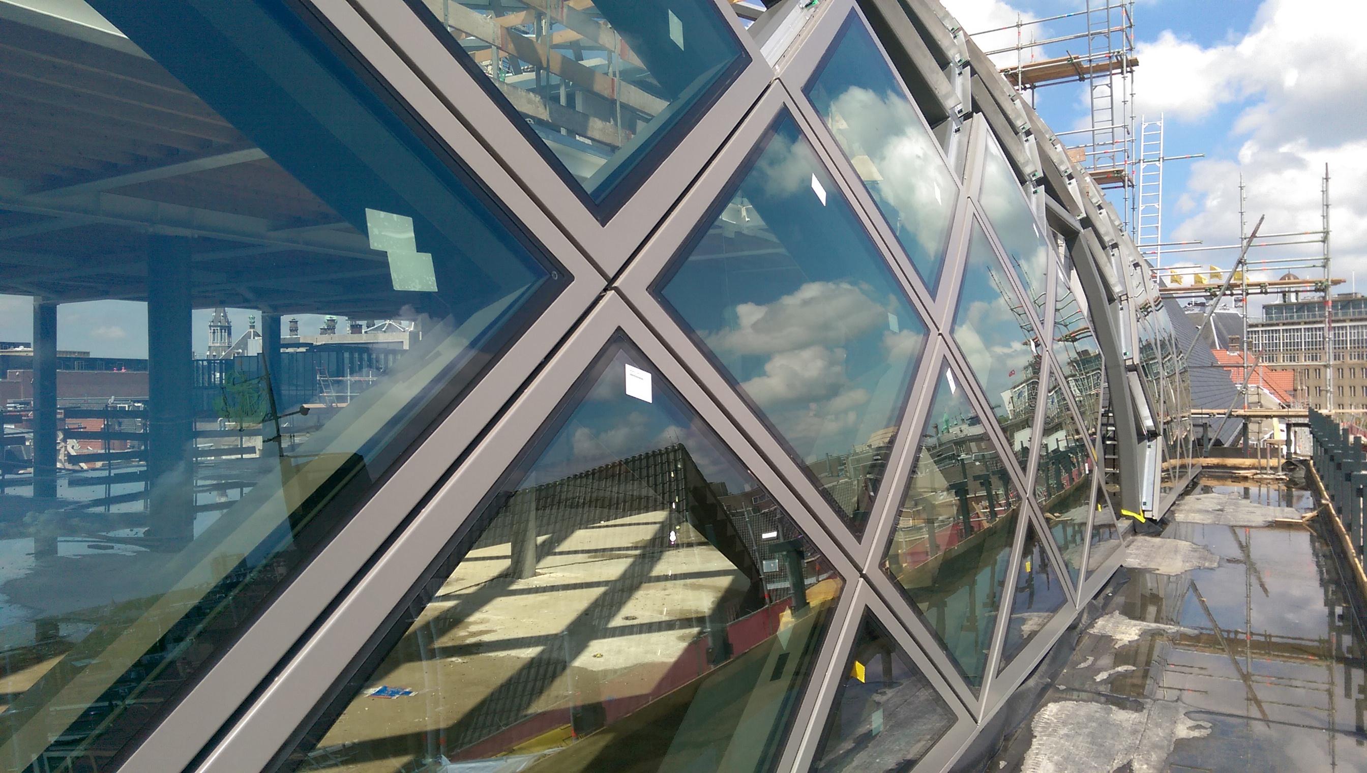 Toeleveringen: Octatube – Rokin Amsterdam