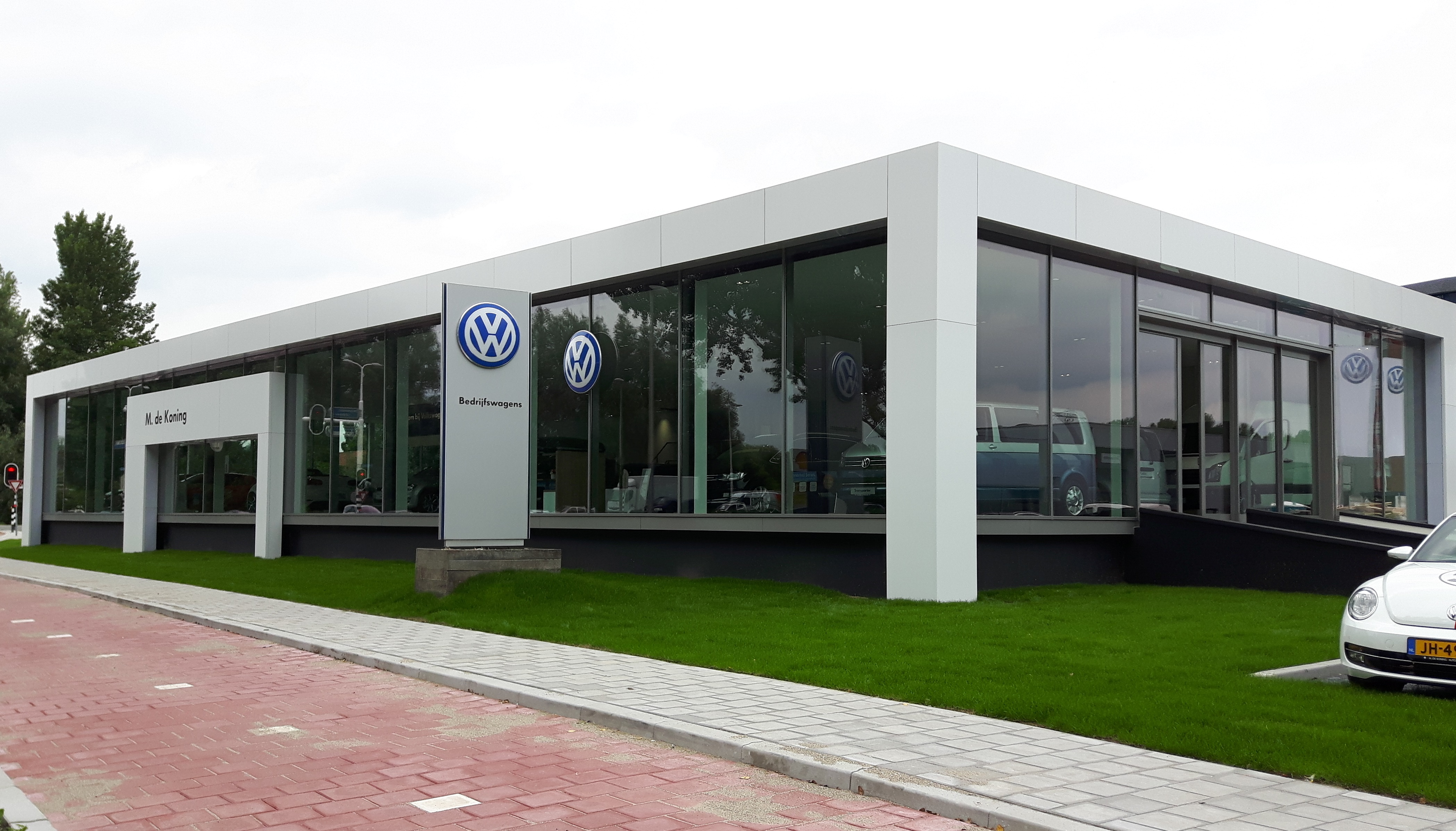 Gevelbekleding: VW De Koning