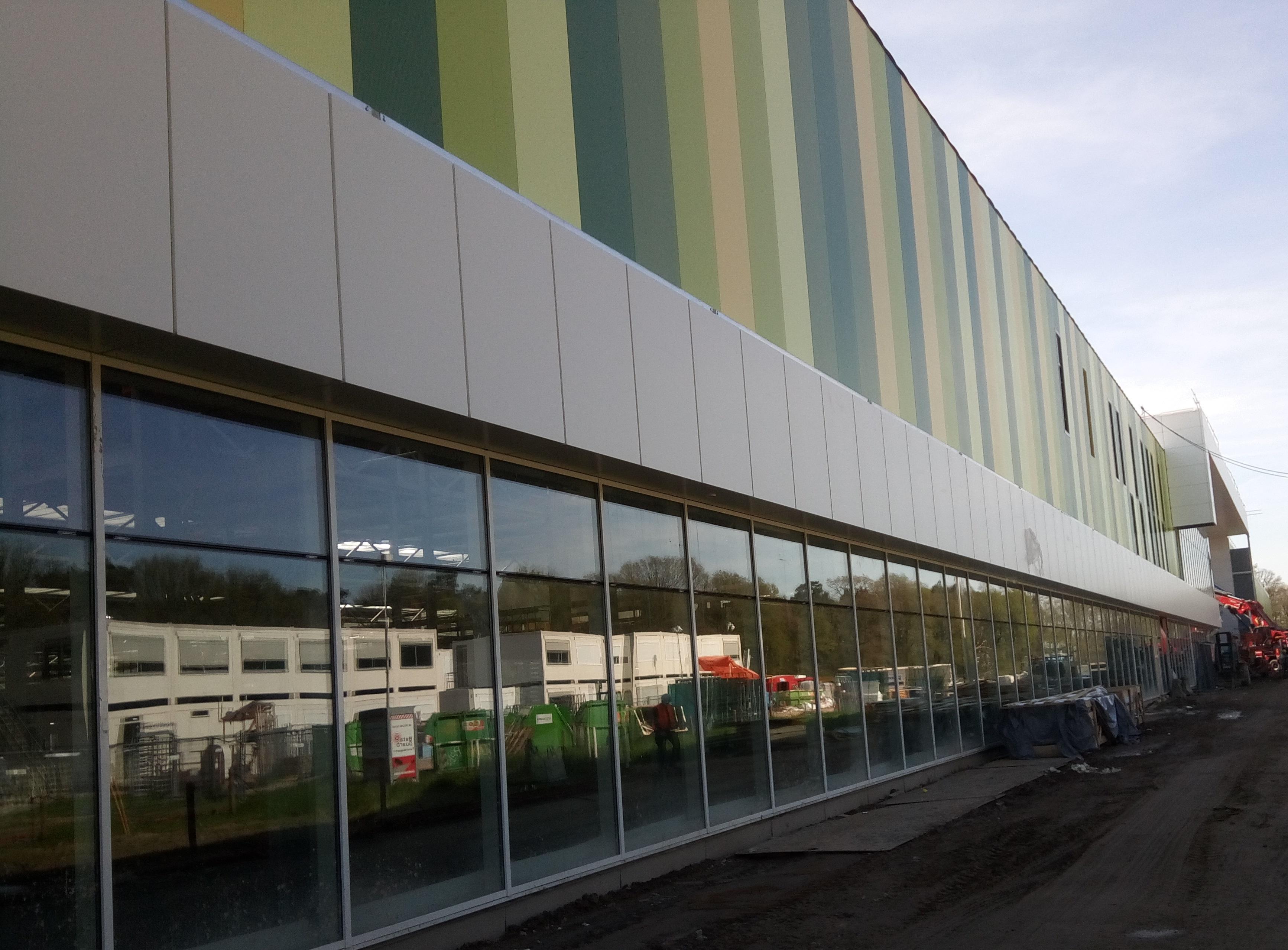 Gevelbekleding: Brainport Industries Campus Eindhoven